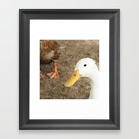 Just The Two Of Us Framed Art Print