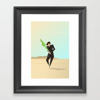 Luke Framed Art Print