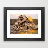 tigerstein 1 Framed Art Print