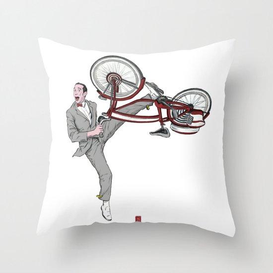 Pee Wee Herman #3 Throw Pillow