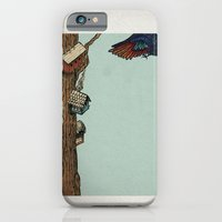iPhone & iPod Case featuring Bird House by Zach Hoskin