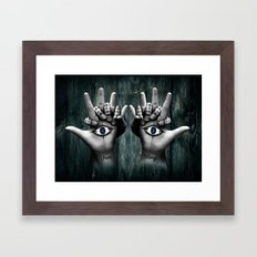 Daughter of Smoke and Bone Framed Art Print