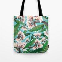 Plumerias Tote Bag