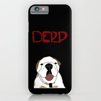 iPhone & iPod Case featuring Derp Case 2 by City Light Drive