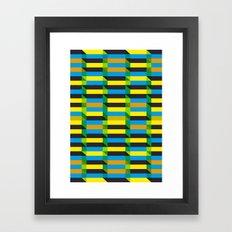 Cinetism and visual effect Framed Art Print