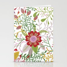 Floral Pattern #44 Stationery Cards
