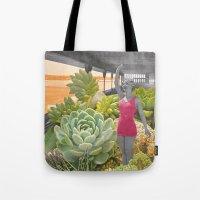 Plantes grasses Tote Bag