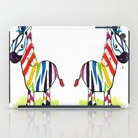 Colorful Zed iPad Case