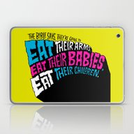 Laptop & iPad Skin featuring The Bible Says They're… by Chris Piascik