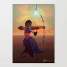 Archer Tda-ora Canvas Print