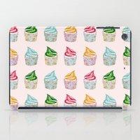 Cute as a multicoloured cupcakes! iPad Case