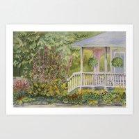 Warren Porch Art Print