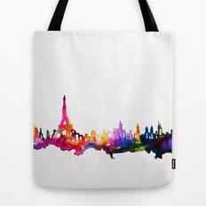 Paris In Watercolor Tote Bag