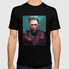 Man of the North SMALL Black Mens Fitted Tee