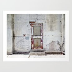 the door Art Print