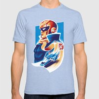 Formula Zero (Open Editi… Mens Fitted Tee Tri-Blue SMALL