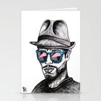 Reflective Rave Stationery Cards