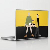 breaking bad Laptop & iPad Skins featuring Breaking Bad by Bill Pyle