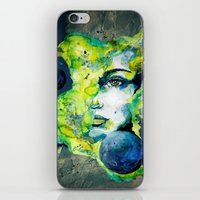 Esther Green (Set) By Ca… iPhone & iPod Skin