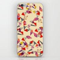 Watercolour Geometric Sh… iPhone & iPod Skin
