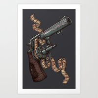 Art Print featuring Shooting 35mm by Alvaro Arteaga