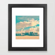 The Beach House Framed Art Print