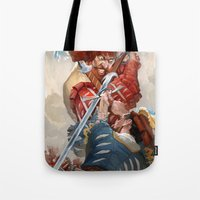 Landsknecht Fight Tote Bag