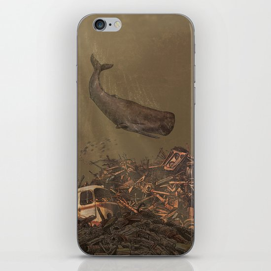The Last Whale  iPhone & iPod Skin