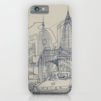 iPhone & iPod Case featuring New York! by David Bushell