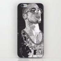 Tyler Durden iPhone & iPod Skin
