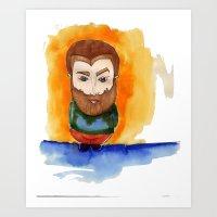Redbeard Art Print