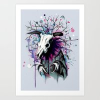 From Nature We Must Stray Art Print