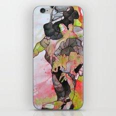 Dino-man iPhone & iPod Skin