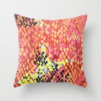 Reptillian Throw Pillow