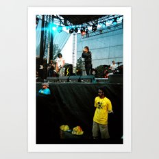The Strokes at Bonnaroo 2011 Art Print