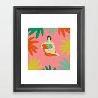 Silla Framed Art Print
