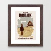 Montauk Framed Art Print