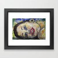 DREAMING TOO Framed Art Print