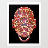 Dimensional Traveller II… Art Print