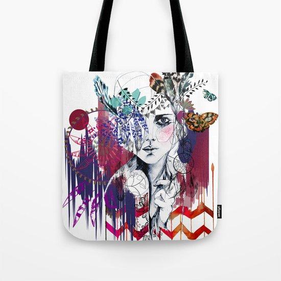 Tribal Girl  Tote Bag
