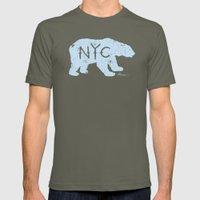 Polar Bear NYC aka Polar Opposites Mens Fitted Tee Lieutenant SMALL