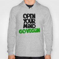 Open Your Mind Go Vegan Hoody