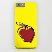 iPhone & iPod Case featuring Apple for Teacher by Negative Space