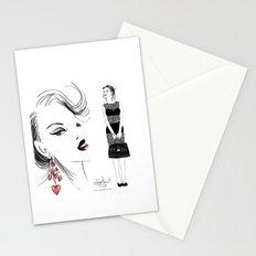 Black Lace Stationery Cards