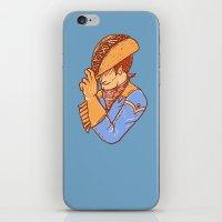Taco Cowboy iPhone & iPod Skin