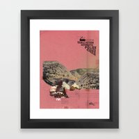The Future A Time To Rem… Framed Art Print