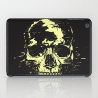 Scream (gold) iPad Case