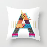 A As ... A Throw Pillow