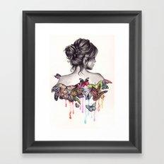 Butterfly Effect Framed Art Print