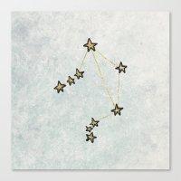 Libra x Astrology x Zodiac Canvas Print